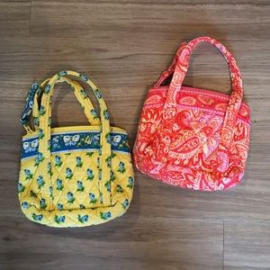 Vintage Vera Bradley toddler purses